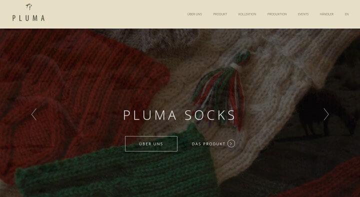Benjamin_Ranft_Web_Design_Pluma_Socks
